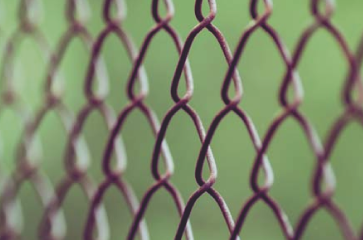 close-up-of-black-vinyl-coated-chain-link-fencing