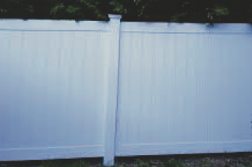 A big reason why people get a fence is for privacy. Privacy fencing can come in most of our fence product materials including wood, chain link (when vinyl slats are used) vinyl, and other fence product types. Call us today to determine what is right for you.