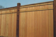 Getting a wood fence is timeless and you can't go wrong getting a a warm wood look for you fence. When maintained correctly, wood fences can last for a very long time and there are so many ways to customize a wood fence for any look and style and on any budget.